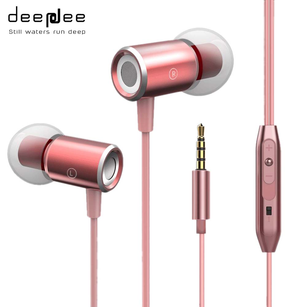 DEEPDEE Cheapest Earphone Sport Music Super Bass Gaming Headset With Microphone For Xiaomi smartphone Computer Mobilephone