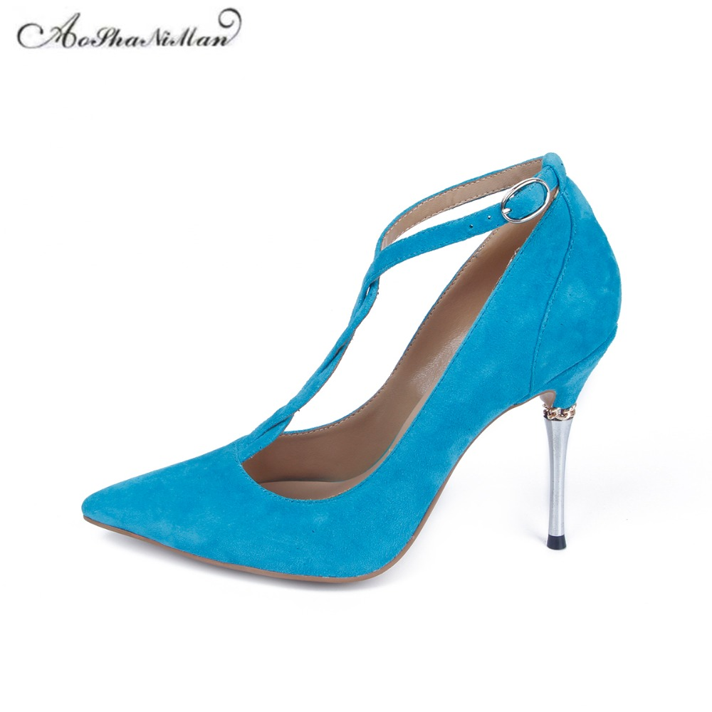 Newest spring Pointed Toe Women Pumps Fashion sexy tied Party Dress Stiletto shoes Women real leather supper high heels 34-42Newest spring Pointed Toe Women Pumps Fashion sexy tied Party Dress Stiletto shoes Women real leather supper high heels 34-42