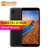 """Globale Versione Xiao mi rosso mi 7A mi Celular 2GB 16GB Smartphone Snapdargon 439 Octa Core 4000mAh AI Viso Sbloccare 5.45 """"Fotocamere 13mp"""