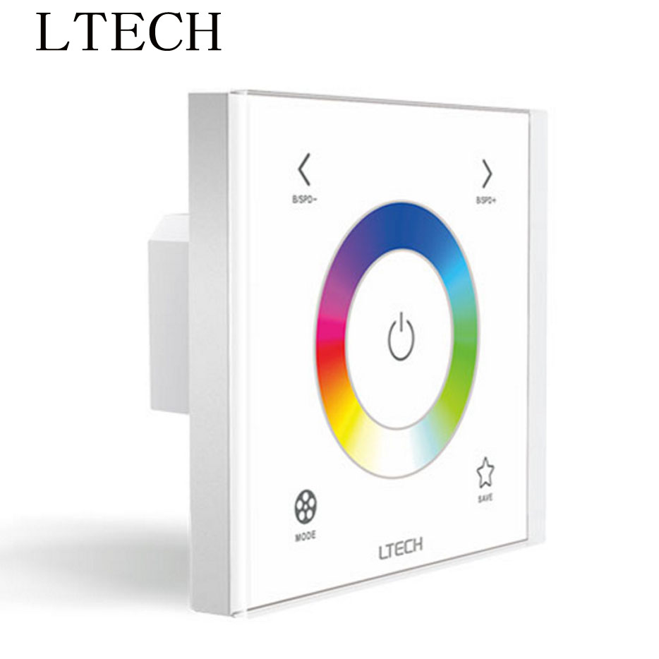 Lights & Lighting Xnbada Ltechwall Mount Led Rgb Controller Ex3s Touch Panel Ac100~240v Input 2.4ghz Dmx Output For Rgb Led Strip Lights By Scientific Process