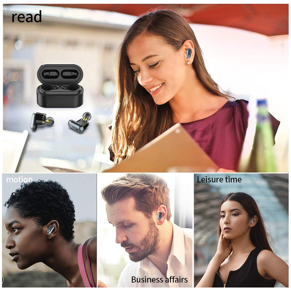 lowest price SYLLABLE S101 TWS Bluetooth Earphones with QCC3020 chip Earbuds Strong bass Waterproof sport Headset 500mAh S101 Volume control