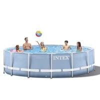 305*76 см Intime взрослых Детские Надувные океан плюс размеры большой пластик Детский бассейн с водяной насос