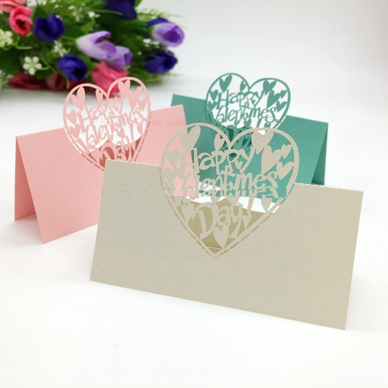 Whole Creative Hy Valentine Day Wine Gl Markers Table Name Number Place Cards Wedding Birthday Party Decorations On Aliexpress Alibaba Group