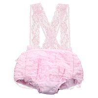 Pudcoco LaceBaby Girls Sleeveless Romper Fashion Newborn Baby Girls Lace Floral Romper Jumpsuit Backless Sunsuit Clothes 0-18M