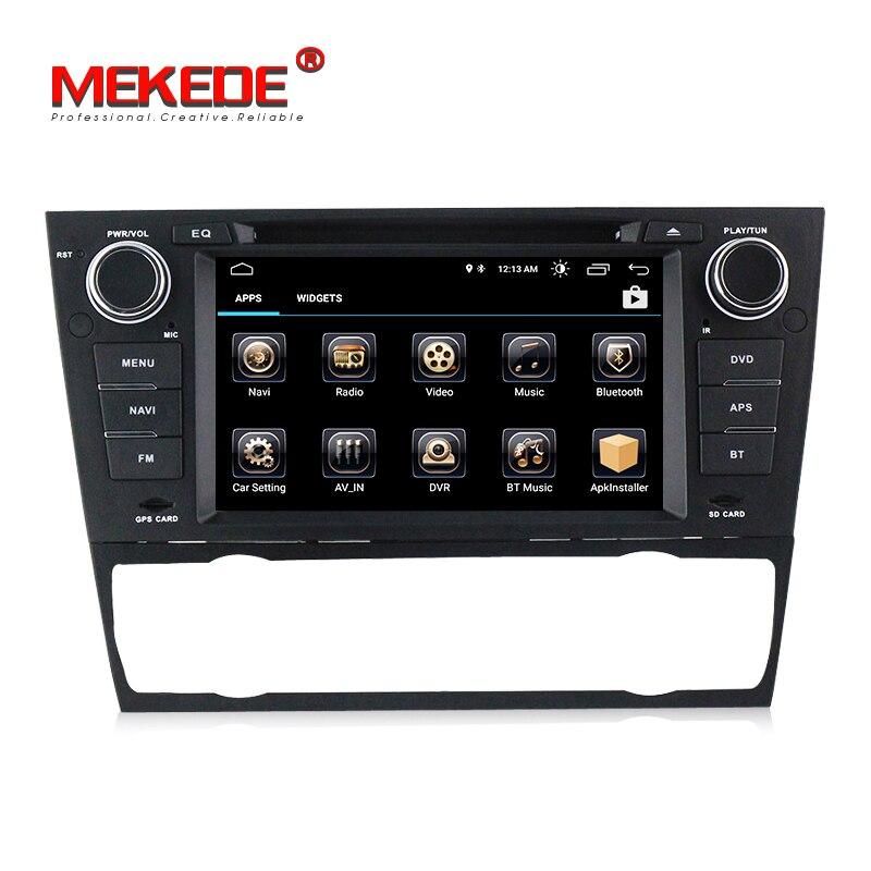 1din Android81 Hd экран автомобильного аудио Gps Navi для Bmw E90
