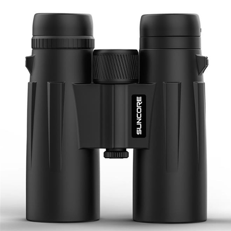 10x42 12x42 Telescope High Power Binoculars BAK4 Prism Light Night Vision Dual Green Film Zoom Hunting Professional in Monocular Binoculars from Sports Entertainment