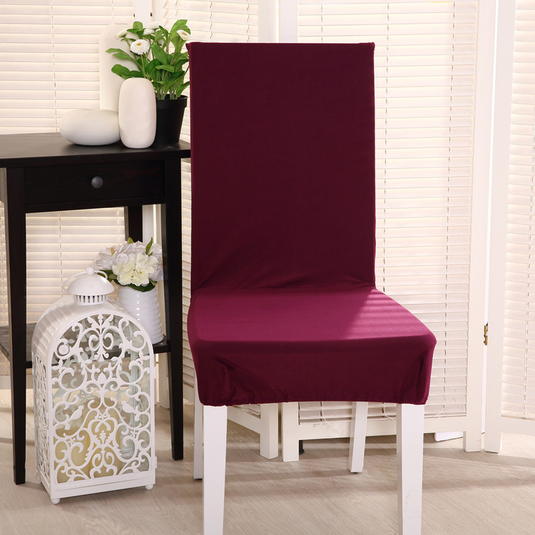 Cheap Dinner Tables Part - 25: Awillhome Spandex Chair Cover For Dinner Room Hotel Wedding Banquet Chair 1  PC(China (