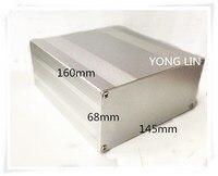 1 peças caixa De Alumínio/caixa eletrônico gabinete 145*68-160 caixa de Amplificador/caixa gabinete