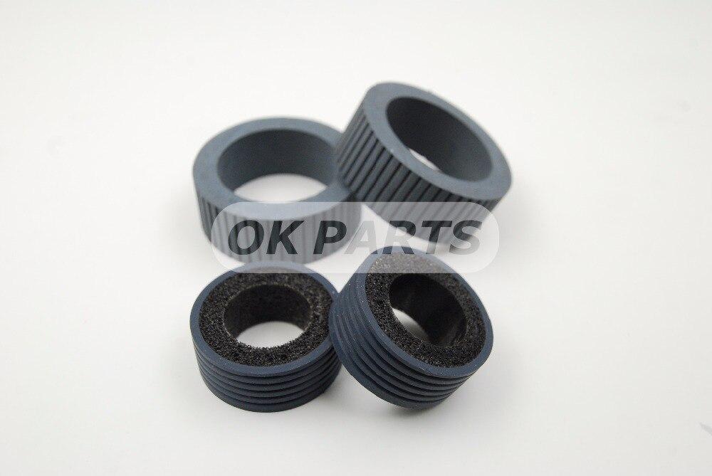 PA03540-0001 PA03540-0002 Brake and Pick Roller for Fujitsu 6130 Fi-6130 Fi-6130Z Fi-6230 Fi-6140 Fi-6240 Fi-6125 Fi-6225 IX500