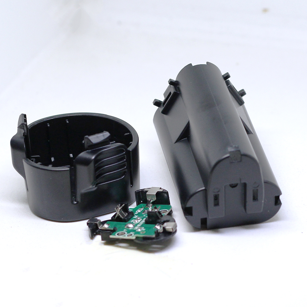 DIY BL1013 Power Tools Plastic Battery Case with Circuit board (No battery cell )For MAKITA 194550-6 194551-4 BL1013 BL1014 4x battery for makita 10 8v 10 8 volt bl1013 bl1014 td090d td090dw lct203w 194550 6 194551 4li ion electric power tool charger