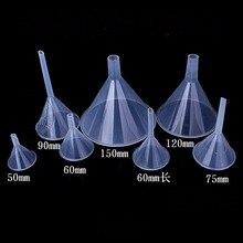 50 мм 60 мм 75 мм 90 мм 120 мм 150 мм короткий стержень длинный стержень пластиковая воронка для обучения в лаборатории кухни