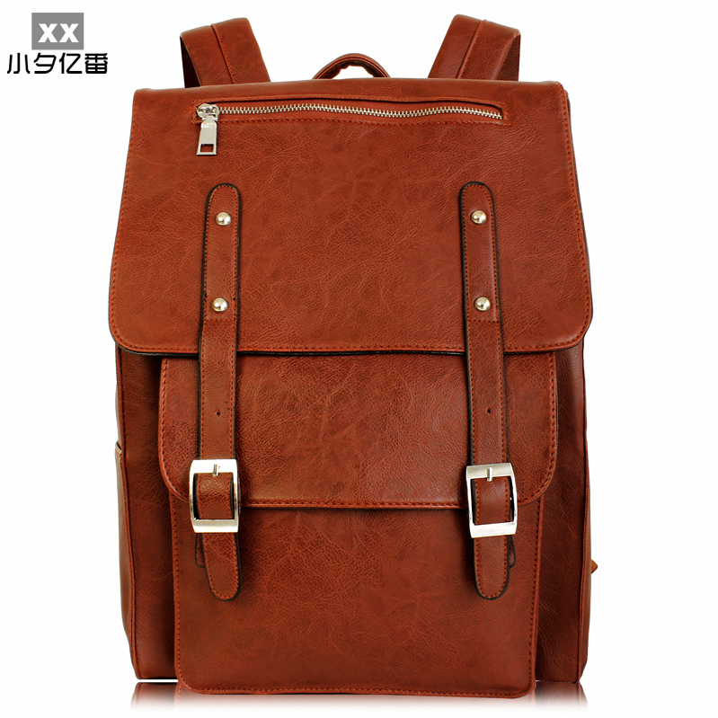 Luxury Designer Oil Wax Leather Men Backpack Vintage Fashion Women Bag College Style School Backpacks Travel Bags Mochila A0163 kativa несмываемый оживляющий концентрат для волос с маслом арганы argan oil 250мл