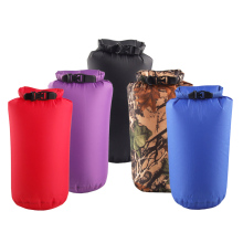купить Waterproof Dustproof Roll Top Compression Bag Dry Sack Dry Bag Lightweight for Camping Floating по цене 136.78 рублей