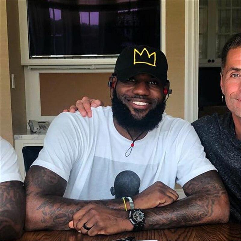 LeBron James Dad Hat Formally Signed Frog Crown   Baseball     Cap   Summer basketball Snapback   Caps   Men Women Fashion Adjustable Hat