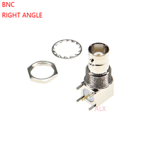 2 шт. Q9 5pin BNC гнездо прямоугольный RF коаксиальный разъем pcb крепление 5 pin BNC разъем
