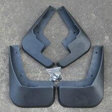 Free Shipping High Quality ABS Plastics Automobile Fender Mudguards Mud Flaps For Citroen C-Elysee Citroen Elysee все цены
