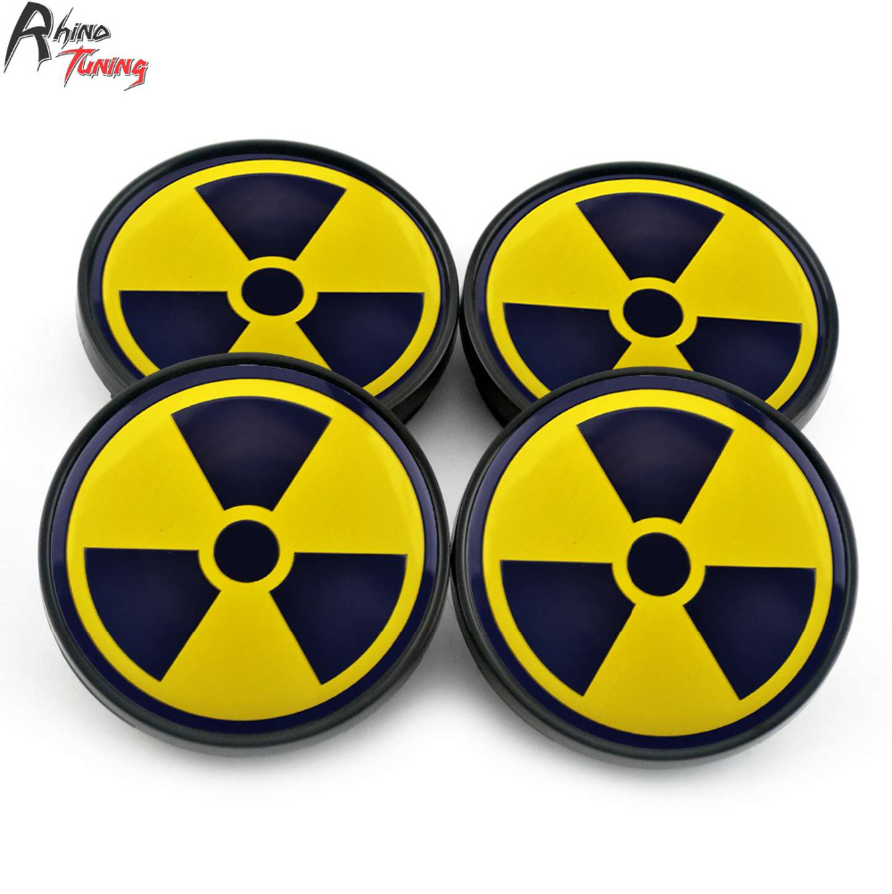 Rhino tuning 4pc 60mm nuclear radioactive symbol car wheel center rhino tuning 4pc 60mm nuclear radioactive symbol car wheel center caps caps emblem badge sticker for 2005 subaru legacy gt 382 in wheel center caps from buycottarizona