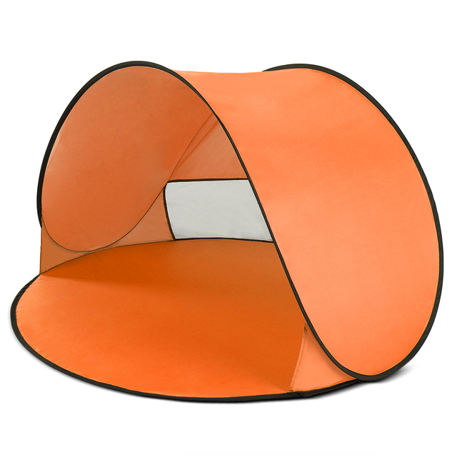 Oudoor Ultralight Camping Tent Instant Pop Up Tent Baby Beach Tent Camping Hiking Tent Anti Uv Sun Shelter For Fishing Hiking 2