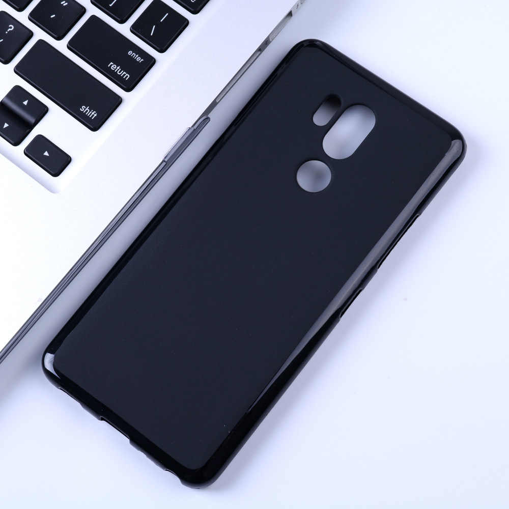 Matte Soft TPU Case Voor Voor LG G7 LGG7 ThinQ Siliconen Ultra Dunne Slim Back Cover