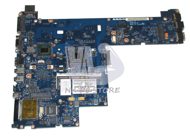 492552-001 Main Board For Hp 2530P Laptop Motherboard / System Board with cpu Onboard DDR2 412318 001 dl585g1 server board system board for dl585 g1