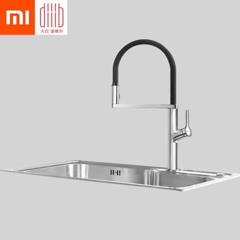 Nouveau Xiaomi Mijia Dabai u-yue cuisine Intelligent capteur interrupteur robinet 300 bras rotatif universel Tube eau cuisine Stensils