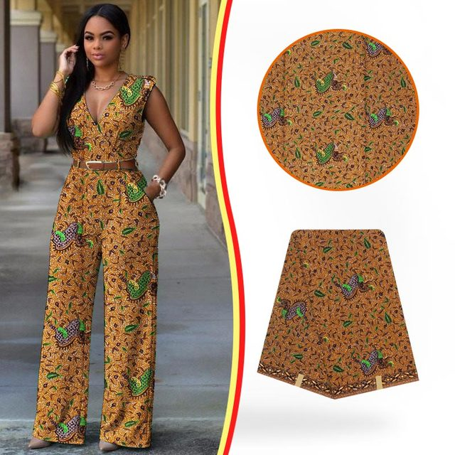 Free Shipping African Fashion Designs Dress Holland Wax Fabric New African Sewing Patterns