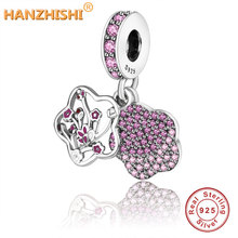 Fit Original Pandora Charm Bracelet DIY Jewelry Making 2019 Summer Collection 925 Sterling Silver Love In Full Bloom Beads