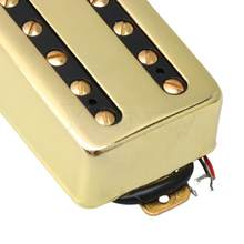 Yibuy Electric Guitars Humbucker Double Copper Coil Pickup Bridge and Neck Kit(China)