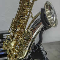 New YANAGISAWA T9933 Bb Tenor Saxophone Brass Body Gold and Silver Plated B Flat Music Instrument Sax with Case Accessories