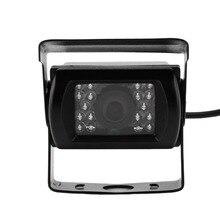 HD CCD Car Rear View Camera Reverse backup Camera rearview parking 120 Degree 18 IR Nightvision Waterproof Bus Truck Camera WF
