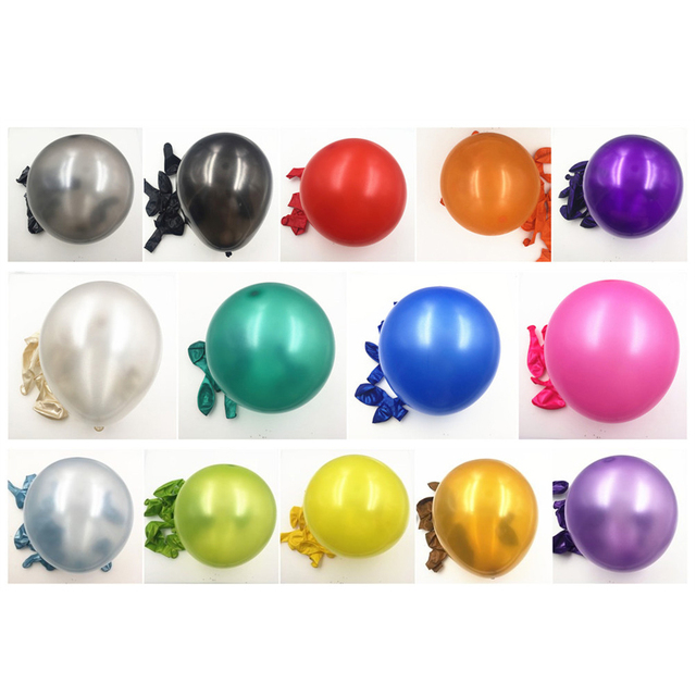 Black balloon 100pcs/lot 1.5g 10 Inch Pearl Helium
