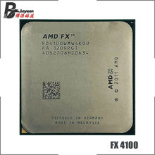 Amd fx-series FX-4100 fx 4100 fx4100 3.6 ghz processador cpu quad-core fd4100wmw4kgu soquete am3 +(China)