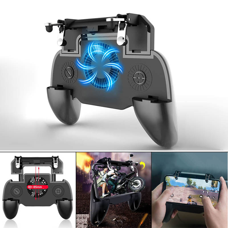 HOT Universal Mobilephone Game Controller Mute Cooling Fan Radiator Controller Handle for Smartphone Drop shipping