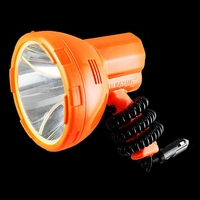 New Hot 12V 1000m Fishing Lamp 50W LED Light Vehicle Mounted LED Searchlight Super Bright Portable Spotlight for Camping