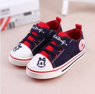New Kids Boys & Girls Shoes Sneakers Jeans Running Shoes Spring Autumn Canvas Children Denim Shoes Spring Antiskid sports shoes