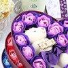 New-20pcs-Rose-Soap-Flowers-Bear-Soap-Flower-Gift-Box-2