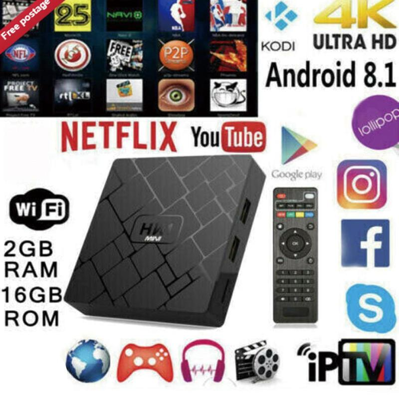 Hk1 Mini Tv Box Rk3229 2g/16g Android 8.1 Smart Tv Box Android 8.1 Rk3229 Quad-core Wifi 2.4g 4 k 3d Hk1mini Google décodeur