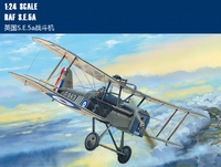 Trumpet 62402 1:24 World War I S.E.5a Fighter Assembly Model Building Kits Toy