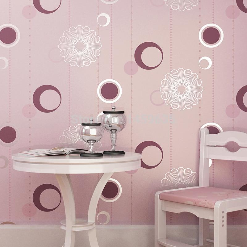 Yang Modern Ruang Tamu Minimalis Latar Belakang Tv Wallpaper Woven Wallpaper Lingkaran Abstrak Abu Abu Hijau Kamar Tidur Bedroom Light Bedroom Doorbedroom Fashion Aliexpress