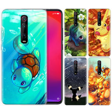 Silicone Case for Xiaomi Redmi K20 Pro K20Pro Note 5 6 7 7A 6A Mi A2 A1 8 Lite 9 S2 Pocophone F1 Cartoon Pokemons(China)
