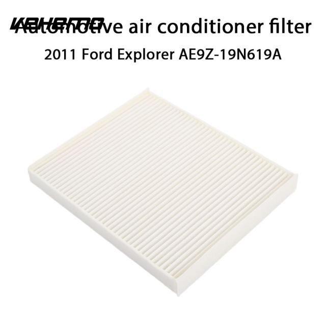 Vehemo White Activated Carbon Cabin Air Filter Vehicle Air Filter