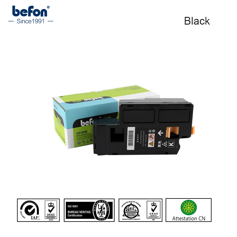 befon Compatible Black 105 cartridge vervangen voor Xerox Phaser 6000 6010 6000B voor WorkCentre 6015-printercartridge CP105B