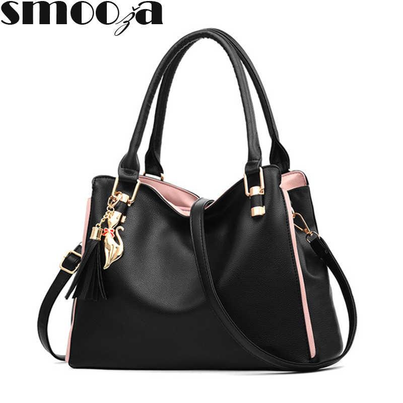 8dc8b481b57 Detail Feedback Questions about SMOOZA Luxury Handbags Women Bag ...