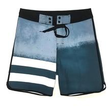 2019 New Arrivals Summer Elastic Board Shorts Striped Mens Beach Shorts Quick Dry Swim Bermuda Surfing Shorts Boys Boardshorts недорго, оригинальная цена