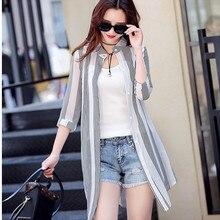 Женский кардиган, летняя элегантная шифоновая блузка, Длинные рубашки с принтом, короткий рукав, пляжный комбинезон, бохо, кардиганы, уличная одежда