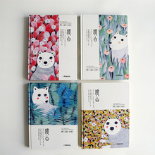 Monologue Series Notebook Thickened Large B5 Hard Cover Notebook Notepad 1PCS