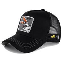 Бренд аниме Банни Snapback кепка хлопок бейсбольная кепка для мужчин и женщин хип-хоп папа сетка шляпа водителя грузовика дропшиппинг