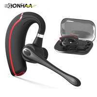 Boutique Business Bluetooth Headset Stereo Noise Reduction Bluetooth Earphonehands Free Wireless Headset For Smart Phones