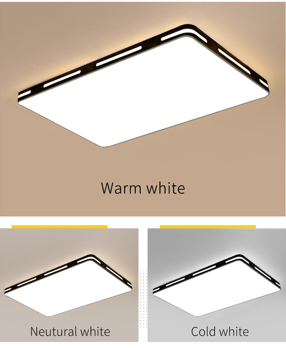 Modern LED Ceiling Light Simple Decoration Fixtures for Study Dining Room Bedroom Living Room Balcony Ceiling Lamp AC110v 220v