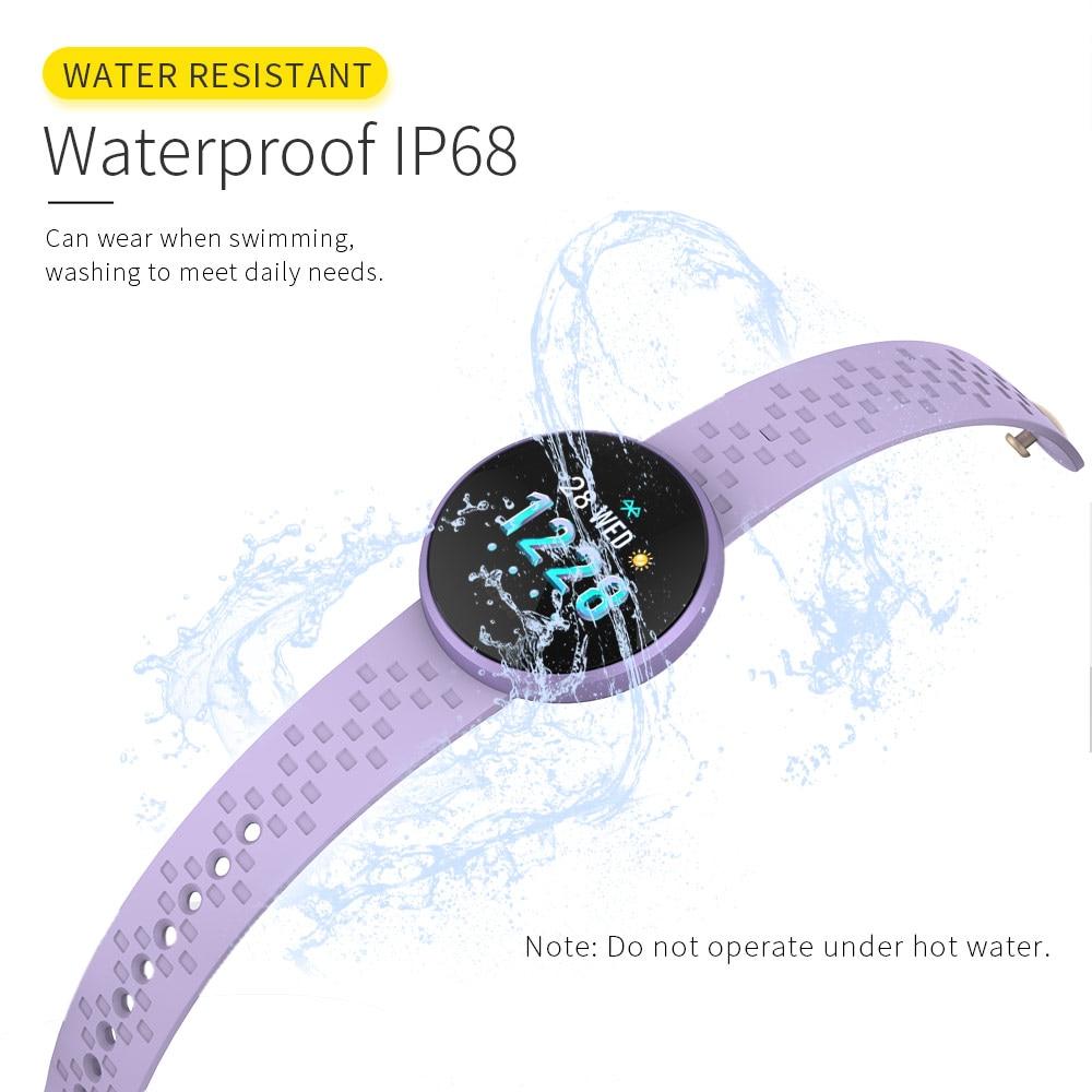 Fashion Smart Watch Women Female Period Reminder HeartRate Waterproof Smartwatches Colories Step Beauty Digital Wristwatch SKMEI